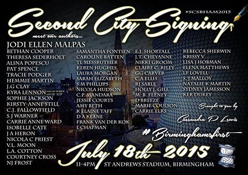 second city signing